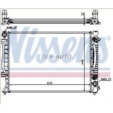 Audi a6  Радиатор охлаждения (NISSENS) (AVA) (см.каталог) - Dem-Yug