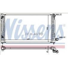 Audi a6  Радиатор охлаждения(NISSENS) (NRF) (GERI) (см.каталог) - Dem-Yug