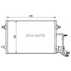 Audi a6  Конденсаторкондиционера (см.каталог) - Dem-Yug