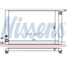 Audi a8  Радиатор охлаждения(NISSENS) (см.каталог) - Dem-Yug