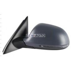 Audi q3 {12 } . (aspherical) Зеркало левое электрическое с подогревом , автоскладыванием , указателем поворота (aspherical) грунтованное {12 конт} - Dem-Yug