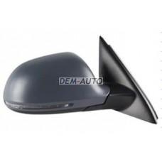 Audi q3 {14 } .(convex) Зеркало правое электрическое с подогревом , автоскладывантем , указателем поворота , памятью (convex) грунтованное {14 конт} - Dem-Yug