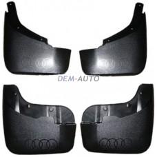 Audi q7++(4 ) Брызговик переднего крыла левый+правый (КОМПЛЕКТ) + задний (4 шт) - Dem-Yug