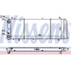 Радиатор охлаждения (NISSENS) (NRF) (GERI) (см.каталог) на Ауди 100 Ц3