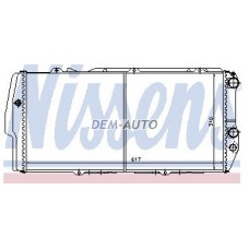 Audi 100 (nissens) (ava) (.) Радиатор охлаждения (NISSENS) (AVA) (см.каталог) - Dem-Yug