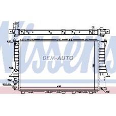 Audi 100 {a6 94-}  Радиатор охлаждения (NISSENS) (AVA) (см.каталог) - Dem-Yug