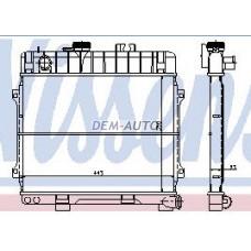 Радиатор охлаждения (NISSENS) (AVA) (см.каталог) на БМВ Е28