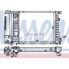 Радиатор охлаждения (NISSENS) (AVA)(см.каталог) на БМВ Е30