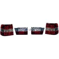 Фонарь задний внешний+внутренний левый+правый (комплект) (СЕДАН)тюнинг прозрачный хрустальный красно-белый