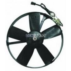 Мотор+вентилятор конденсатора кондиционера на БМВ Е34