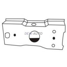 Кронштейн усилителя бампера переднего левый=правый на БМВ Е36