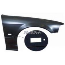 Крыло переднее правое (СЕДАН) (compact) с отверстием под повторитель на БМВ Е36