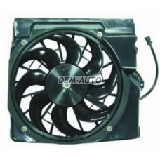 Мотор+вентилятор конденсатора кондиционера с корпусом на БМВ Е36