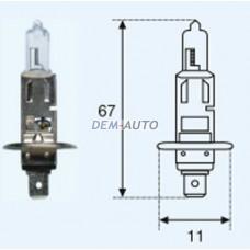 H1 {12v-55w / p14.5s} (1 ) blick Лампа упаковка (1 шт)