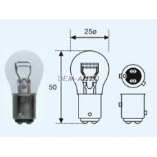 P21/4w {12v-21/4w / baz15d} (10 ) selum Лампа упаковка (10 шт)
