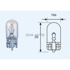W3w {t10 12v-3w / w2.1x9.5d} (10 ) blick Лампа упаковка (10 шт)
