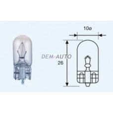 W3w {t10 24v-3w / w2.1x9.5d} (10 ) blick Лампа упаковка (10 шт)
