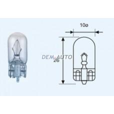 W5w {t10 12v-5w / w2.1x9.5d} (10 ) blick Лампа упаковка (10 шт)