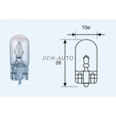 W5w {t10 24v-5w / w2.1x9.5d} (10 ) blick Лампа упаковка (10 шт)