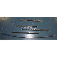 Молдинг решетки радиатора (5шт) (комплект) тюнинг хромированный