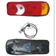 Premium {midlum 00-/maxity 06-/vv fl/fe 06-/daf xf 02-08} (depo) Фонарь задний внешний правый в сборе с проводкой - Dem-Yug