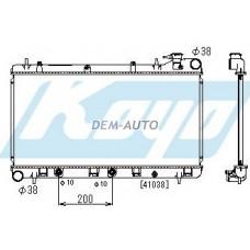 Impreza at 1.6 1.8 2 (koyo) Радиатор охлаждения автомат 1.6 1.8 2 (KOYO) - Dem-Yug