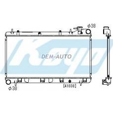 Impreza mt 1.5 1.6 1.8 2 (koyo) Радиатор охлаждения механика 1.5 1.6 1.8 2 (KOYO) - Dem-Yug