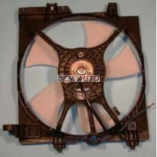 Impreza +  Мотор+вентилятор конденсатора кондиционера с корпусом - Dem-Yug