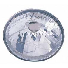 Фара левая=правая круглая хрустальная (DEPO){Диаметр 172мм/ЛАМПА - H4} - Dem-Yug