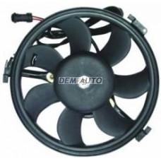 Мотор+вентилятор конденсатора кондиционера на                                                                                  Ауди А4 Б5 рестайлинг
