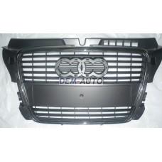 Audi a3 Решетка радиатора с хромированным молдингом - Dem-Yug