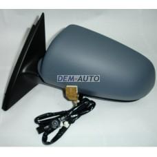 Audi a4  Зеркало левое электрическое с подогревом (aspherical) грунтованное - Dem-Yug