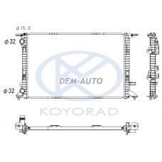 Audi a4 {a5 07-// q3 11-/ q5 08-/a6 11-} (koyo) Радиатор охлаждения (KOYO) - Dem-Yug