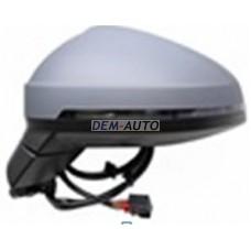 Audi a4.(aspherical)8 Зеркало левое электрическое, с подогревом, указателем поворота, 8 контактов (aspherical) (Тайвань) - Dem-Yug