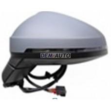 Audi a4..(aspherical)15 Зеркало левое электрическое, с подогревом, указатель поворота, автоскладывание, память, автозатемнение, 15 контактов (aspherical) (Тайвань) - Dem-Yug