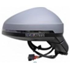 Audi a4..(aspherical)15 Зеркало правое электрическое, с подогревом, указатель поворота, автоскладывание, с памятью , автозатемнение, 15 контактов (aspherical) (Тайвань) - Dem-Yug
