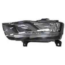 Audi q3.(depo) Фара левая с регулировочным мотором внутри черная (DEPO) - Dem-Yug
