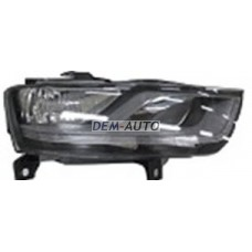 Audi q3.(depo) Фара правая с регулировочным мотором внутри черная (DEPO) - Dem-Yug