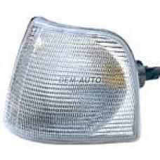 Audi 100 .  Указатель поворота угловой левый белый - Dem-Yug