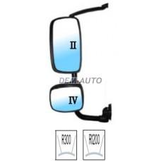 Xf (depo) Зеркало левое в сборе с кронштейном,верхнее электрическое,нижнее механическое с подогревом (DEPO) - Dem-Yug