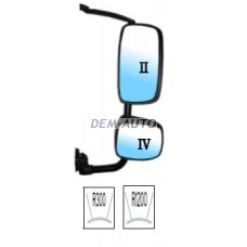 Xf (depo) Зеркало правое в сборе с кронштейном,верхнее электрическое,нижнее механическое с подогревом (DEPO) - Dem-Yug