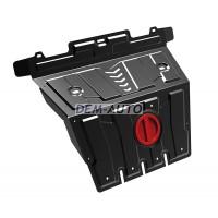 Защита поддона двигателя,с креплениями,1 часть,стальная {4,0/3,0/GX 460 4.6}