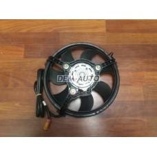 Мотор+вентилятор радиатора охлаждения в сборе (250/150W 280mm) на                                                                                                             Ауди80/90 Б4