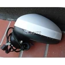 Зеркало левое электрическое , с автоскладыванием , подогревом , указателем поворота(aspherical) , 8 контактов , грунтованное на                                                                                                                                        Ауди А1 Тур 8х