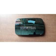 Стекло зеркала левое +/- подогрев (flat) на БМВ Е34