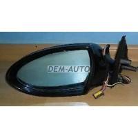 Зеркало левое электрическое с подогревом автоскладыванием с памятью , подсветкой 12 контактов (aspherical) грунтованное